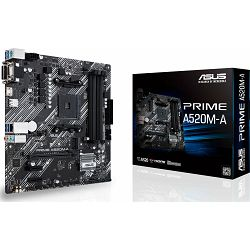 ASUS Prime A520M-A, AMD A520, AM4, 90MB14Z0-M0EAY0