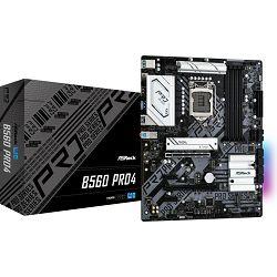 Asrock B560 Pro4, Intel B560, s.1200, 90-MXBF10-A0UAYZ