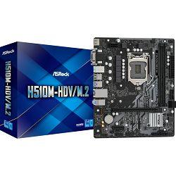 Asrock H510M-HDV/M.2, s.1200, 90-MXBFT0-A0UAYZ