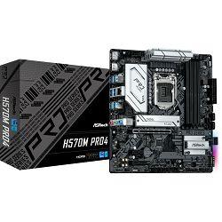 Asrock H570M Pro4, Intel H570, s.1200, 90-MXBFR0-A0UAYZ