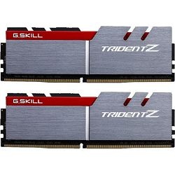DDR4 16GB (2x8) G.Skill 3600MHz Trident Z silver/red, F4-3600C15D-16GTZ