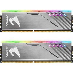 DDR4 16GB (2x8) Gigabyte 3200MHz AORUS RGB, GP-AR32C16S8K2HU416R