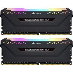 DDR4 16GB (2x8GB) Corsair Vengeance RGB PRO black, 3000MHz, CL15, CMW16GX4M2C3000C15