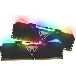 DDR4 16GB (2x8) Patriot 3600MHz Viper RGB, PVR416G360C7K