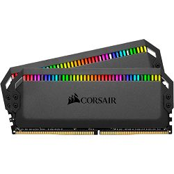 DDR4 16GB (2x8) Corsair 3200MHz Dominator Platinum RGB, CMT16GX4M2C3200C16