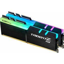 DDR4 32GB (2x16) G.Skill 3200MHz TridentZ RGB Series, F4-3200C16D-32GTZR