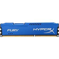 DDR3 8GB (1x8) Kingston 1600MHz Fury Blue, HX316C10F/8