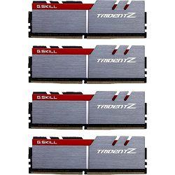DDR4 64GB (4x16) G.Skill 3600MHz Trident Z Series, F4-3600C17Q-64GTZ