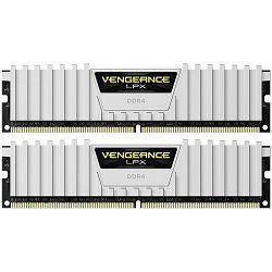 DDR4 32GB (2x16) Corsair 3200MHz LPX White, CMK32GX4M2B3200C16W