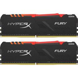 DDR4 16GB (2x8) Kingston 3200MHz Fury RGB, HX432C16FB3AK2/16