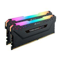 DDR4 16GB (2x8) Corsair Vengeance RGB PRO TUF Black, 3000MHz, CL15, CMW16GX4M2C3000C15-TUF