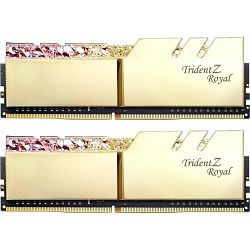 DDR4 16GB (2x8) G.Skill 3600MHz Trident Z Royal Gold, F4-3600C18D-16GTRG