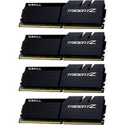 DDR4 64GB (4x16) G.Skill 3600MHz Trident Z Series, F4-3600C17Q-64GTZKK