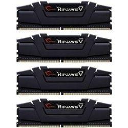 DDR4 64GB (4x16) G.Skill 3600Mhz Ripjaws V black, F4-3600C16Q-64GVKC