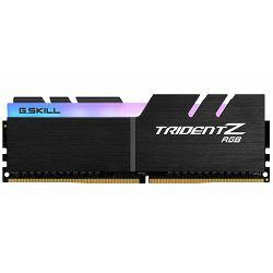 DDR4 8GB (1x8) G.Skill 3200MHz TridentZ RGB Series, F4-3200C16S-8GTZR, bulk