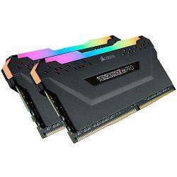 DDR4 16GB (2x8) Corsair 3600MHz Vengeance RGB PRO Black, CL18, CMW16GX4M2C3600C18