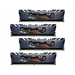 DDR4 32GB (4x8) G.Skill 3200MHz Flare X, F4-3200C14Q-32GFX