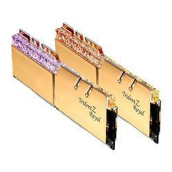 DDR4 16GB (2x8) G.Skill 3200MHz Trident Z Royal Gold, F4-3200C16D-16GTRG