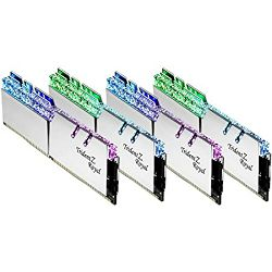 DDR4 128GB (4x32) G.Skill 4000MHz Trident Z Royal Silver CL18, F4-4000C18Q-128GTRS