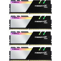 DDR4 128GB (4x32) G.Skill 3600Mhz Trident Z Neo, F4-3600C18Q-128GTZN