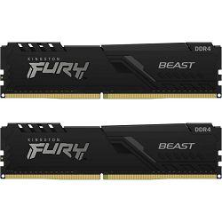 DDR4 16GB (2x8) Kingston 3200MHz Fury BEAST C16, KF432C16BBK2/16