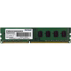 DDR3 8GB (1x8) Patriot 1600MHz, PSD38G16002