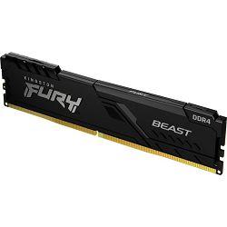 DDR4 16GB (1x16) Kingston 3200MHz Fury BEAST, KF432C16BB1/16