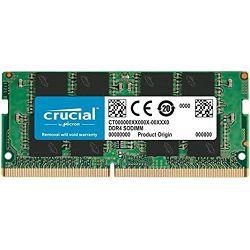 DDR4 16GB (1x16) Crucial 2666MHz sodimm, CT16G4SFRA266