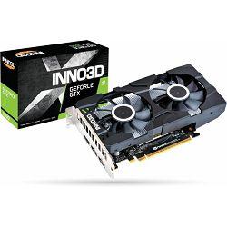 Innod3D GTX1650 Twin X2 OC, 4GB GDDR5, N16502-04D5X-1510VA25