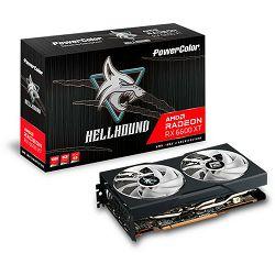 PowerColor RX6600XT Hellhound OC, 8GB GDDR6, AXRX 6600XT 8GBD6-3DHL/OC
