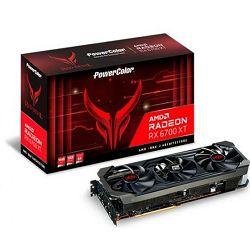 Powercolor RX6700XT Red Devil OC 12GB, GDDR6, ARRX 6700XT 12GBD6-3DHE/OC