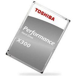 "Toshiba 6TB 3.5"" 7200rpm, 128MB, X300, Bulk, HDWE160UZSVA"