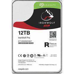 "Seagate 12TB 3.5"" 7200rpm, 256MB, IronWolf Pro, ST12000NE0008"