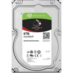 """Seagate 6TB 3.5"""" 7200rpm, 256MB, IronWolf, NAS, ST6000VN001"""