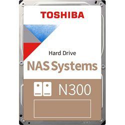 "Toshiba 16TB 3.5"" 7200rpm, 256MB, N300, Bulk, HDWG31GUZSVA"