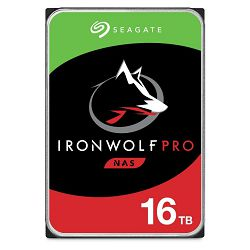 """Seagate 16TB 3.5"""", 7200rpm, 256MB, IronWolf Pro NAS HDD +Rescue, ST16000NE000"""