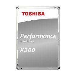 "Toshiba 6TB 3.5"" 7200rpm, 256MB, X300 Bulk, HDWR160UZSVA"