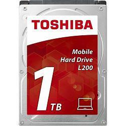 """Toshiba 1TB 2.5"""" 5400rpm, 128MB, L200, 7mm, HDWL110UZSVA"""