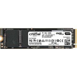 Crucial SSD 1TB P1, M.2 SSD, NVMe, CT1000P1SSD8
