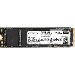 Crucial SSD 500GB P1, M.2 SSD, NVMe, CT500P1SSD8