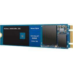 WD SSD 250GB Blue SN500 NVMe, M.2, WDS250G1B0C