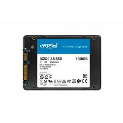 Crucial SSD 1TB BX500, SATA3, CT1000BX500SSD1