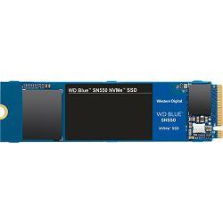 WD SSD 1TB Blue SN550 NVMe, M.2, WDS100T2B0C, 600TBW