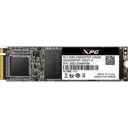 Adata SSD 256GB SX6000 Pro , PCIe M.2 2280, ASX6000PNP-256GT-C