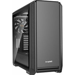 Be quiet! Silent Base 601 Black, glass window, noise-insulated, BGW26