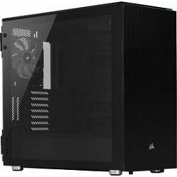 Corsair carbide Series, 678C black, glass window, noise-insulated, CC-9011167-WW