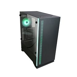 Zalman S5, RGB, Midi Tower Window Black