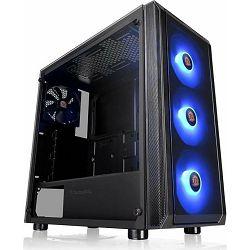 Thermaltake Versa J23 TG RGB black, glass window, CA-1L6-00M1WN-01