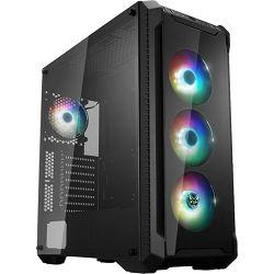 Fortron CMT 520 Plus TG, RGB, crno sa staklom