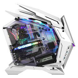 Jonsbo Mod3 Showcase E-ATX White Glass Window Midi Tower